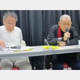 左から石井彰、松尾羊一の各氏(C)日刊ゲンダイ