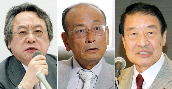 左から小林節、孫崎亨、山田正彦の3氏(C)日刊ゲンダイ