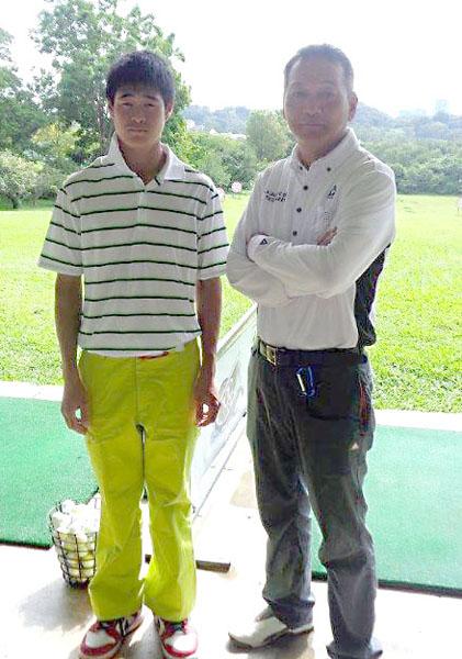 アジア転戦の強力助っ人の村上田君(左)(提供写真)