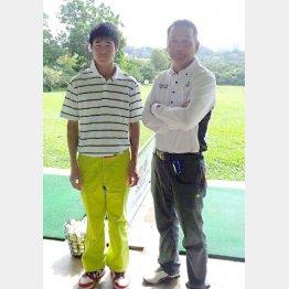 アジア転戦の強力助っ人の村上田君(左)