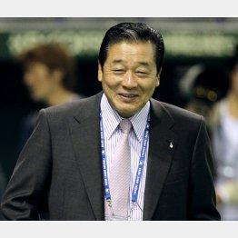 楽天監督に就任した梨田氏(C)日刊ゲンダイ