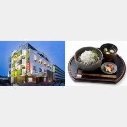湘南で取れたシラス丼が食べられるホテル「ノア・リゾート」(提供写真)