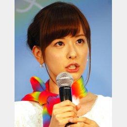 ぶりっ子キャラは健在(C)日刊ゲンダイ