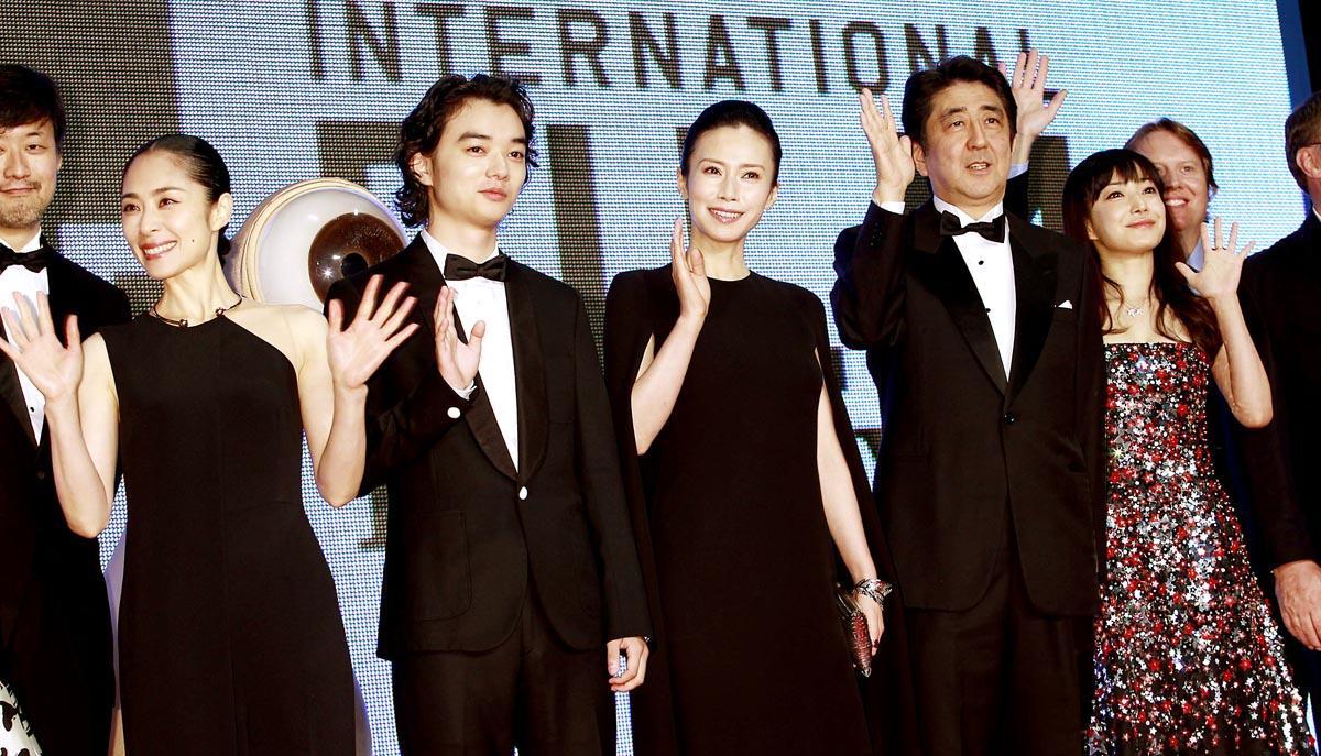 昨年の東京国際映画祭の様子(C)日刊ゲンダイ