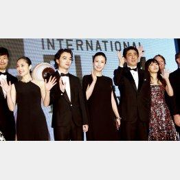 昨年の東京国際映画祭の様子