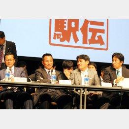 箱根駅伝の監督トークバトルで「ワクワク大作戦」をブチ上げた(C)日刊ゲンダイ