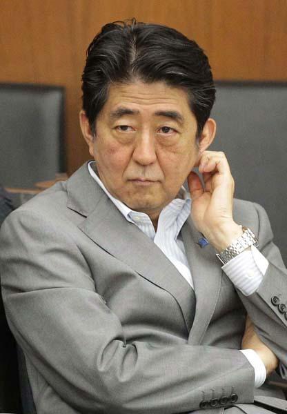 計算が狂った安倍首相(C)日刊ゲンダイ
