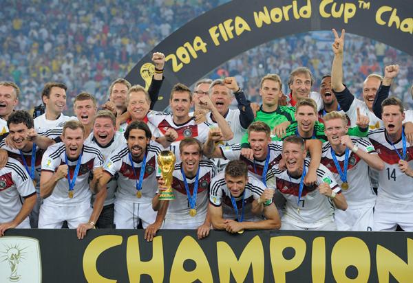 優勝したドイツ(AP)(C)JMPA
