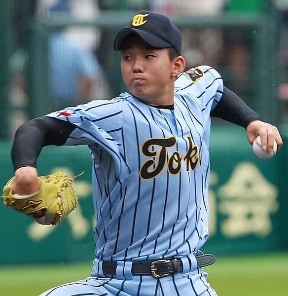 東海大相模の小笠原投手(C)日刊ゲンダイ