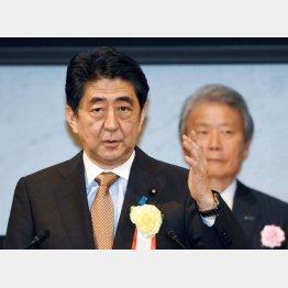 安倍首相と榊原経団連会長
