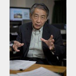 TPP阻止国民会議事務局長の首藤信彦氏(C)日刊ゲンダイ