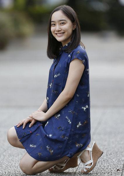 内野聖陽の娘を演じた吉田美佳子(C)日刊ゲンダイ
