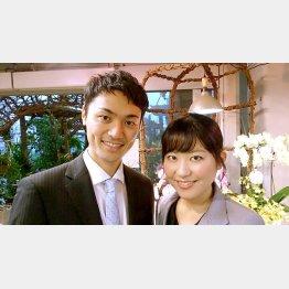 永島慎一氏&妻の留美さん(提供写真)