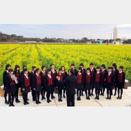 4度目の春(「菜な畑ロード」オープニングセレモニー)(C)日刊ゲンダイ