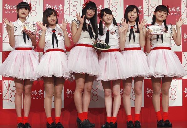 NGT48のメンバー(C)日刊ゲンダイ