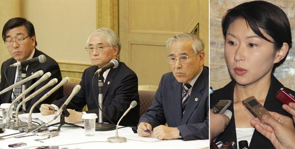 まるで「小渕弁護団」だったヤメ判&ヤメ検第三者委(C)日刊ゲンダイ