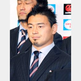 ラグビー日本代表・五郎丸選手(C)日刊ゲンダイ