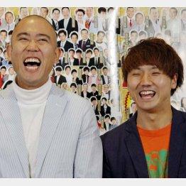 コロコロチキチキペッパーズのナダル(左)と西野創人/(C)日刊ゲンダイ