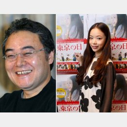 俳優・演出家の岩松了氏(左)と趣里(C)日刊ゲンダイ