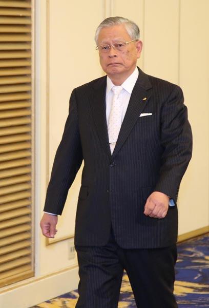 熊崎勝彦コミッショナー(C)日刊ゲンダイ