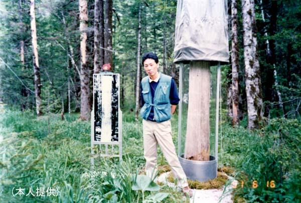 北朝鮮に留学中の李英和氏(提供写真)