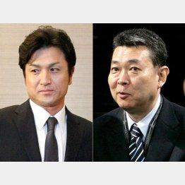 江川卓氏(写真右)は当初から「候補外」だった