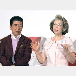 駆け落ちエピソードを語る西川きよし&ヘレン夫妻(C)日刊ゲンダイ