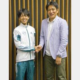 原監督と神野大地選手
