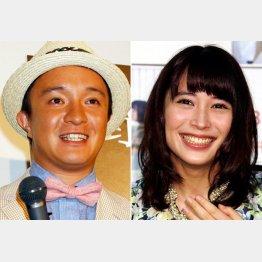 夫婦役を演じる濱田岳と広瀬アリス