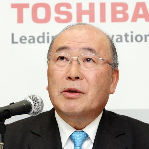 西田元東芝社長の報酬は5年で6億円超(C)日刊ゲンダイ