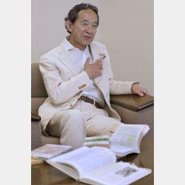 マンズワインの茂木信三郎社長(C)日刊ゲンダイ