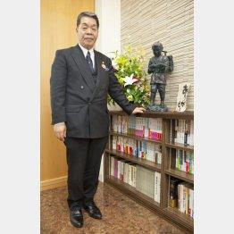 (株)坂東太郎の青谷洋治社長(C)日刊ゲンダイ
