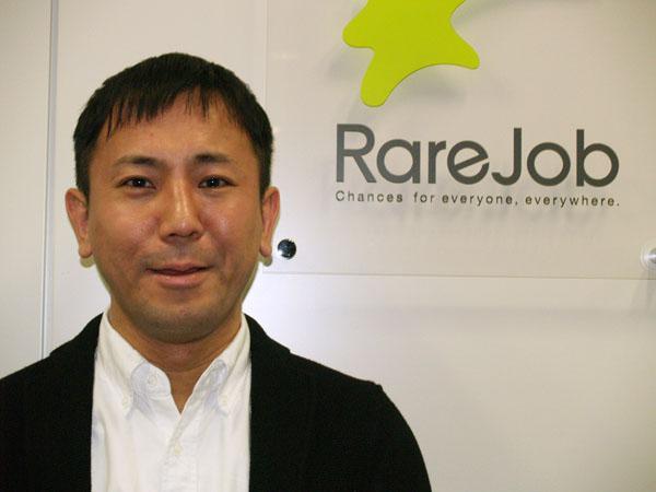 レアジョブの加藤智久社長(C)日刊ゲンダイ