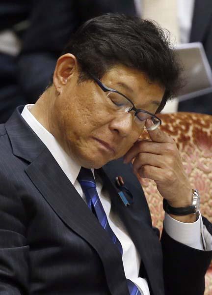予算委員会では態度が急変(C)日刊ゲンダイ