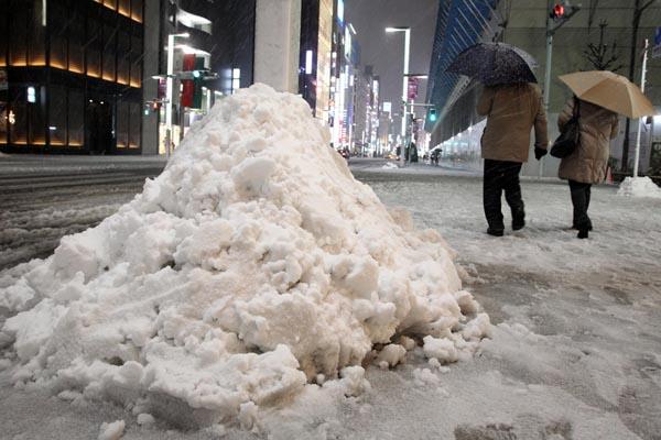 関東にはドカ雪の恐れ(C)日刊ゲンダイ