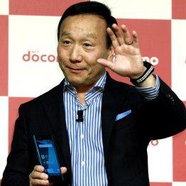 NTTドコモの加藤社長は新プラン検討を明言/(C)日刊ゲンダイ