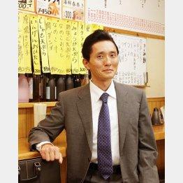 主演の松重豊もニンマリ(C)日刊ゲンダイ