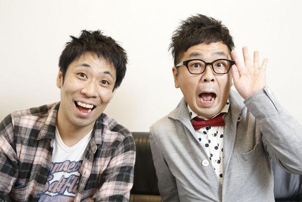 パンクブーブーの黒瀬純(右)と佐藤哲夫(C)日刊ゲンダイ