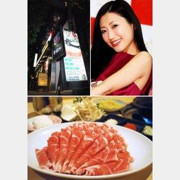 新鮮なラム肉(写真下)は臭みは一切なし!とろける触感がヤミツキに