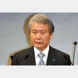 「今年を上回る賃上げ」を表明した榊原経団連会長(C)日刊ゲンダイ