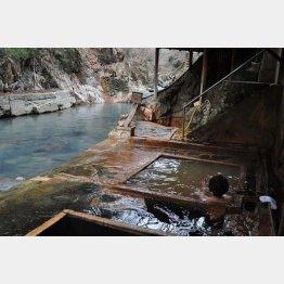 塩の湯温泉「明賀屋本館」(C)飯出敏夫
