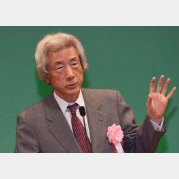小泉純一郎元首相(C)日刊ゲンダイ