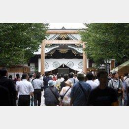 爆破事件のあった靖国神社