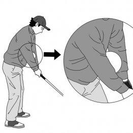 両肘でボールを挟んだ練習は手打ちを自然に矯正する