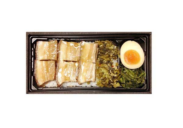 豚バラ肉やわらか煮弁当(C)日刊ゲンダイ