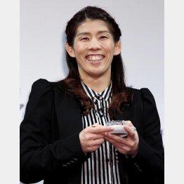 五輪4連覇を狙う吉田沙保里(C)日刊ゲンダイ
