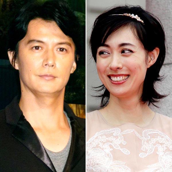 福山雅治と吹石一恵(C)日刊ゲンダイ