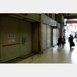 シャッター商店街がまた増える?(写真はイメージ)