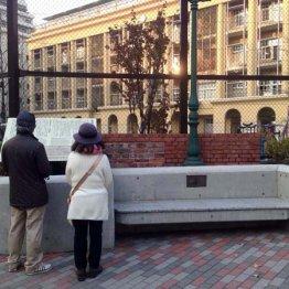 史跡を頼りに築地の 「外国人居留地」があった場所へ