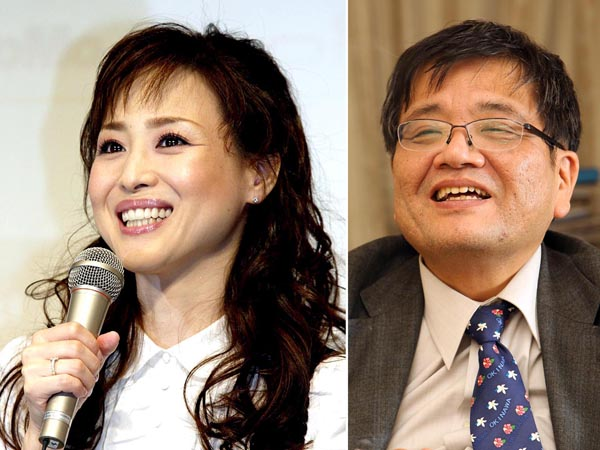 松田聖子(左)の大ファンの森永卓郎氏(C)日刊ゲンダイ